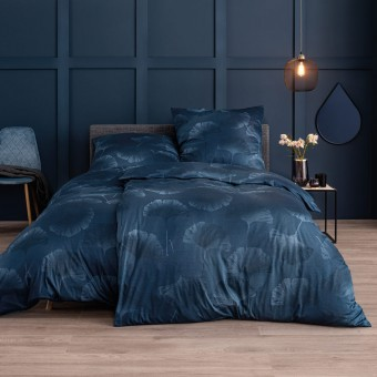 Комплект постельного белья (Германия)Bettwäsche Isabella Indigo