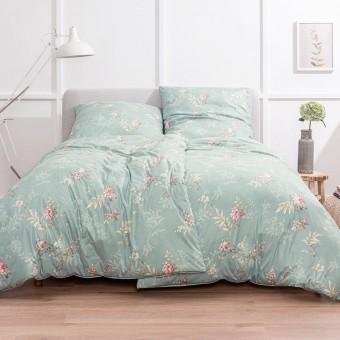 Комплект постельного белья Bettwäsche Xenia Mint 155x200