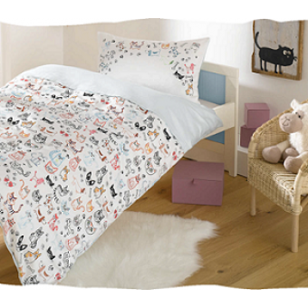 Комплект детского постельного белья Cats & Dogs Lorena (Германия) 135х200