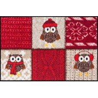 Коврик WINTER OWLS RED Efia (Германия)
